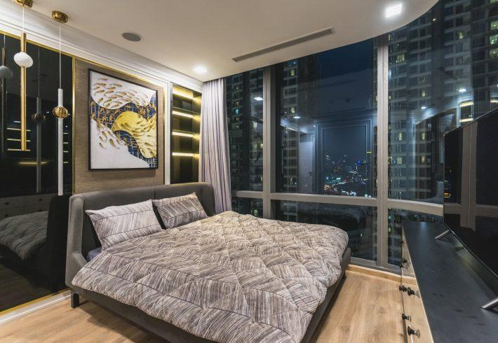 2 phòng ngủ Lm81-16.12a Landmark 81 full nội thất hạng sang cho thuê