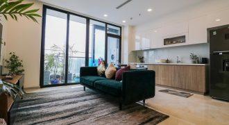 3PN cho thuê Aqua 1 căn 12 layout vòng cong full nội thất