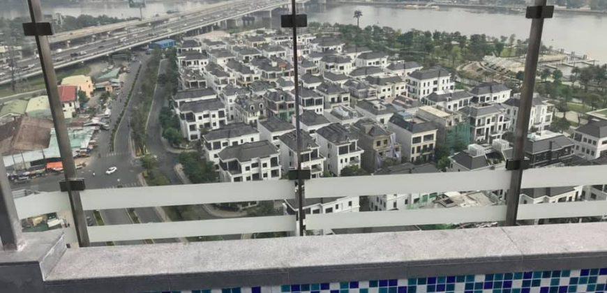 Cho thuê skyvilla Landmark 81 4 phòng ngủ 260m2 nội thất cơ bản