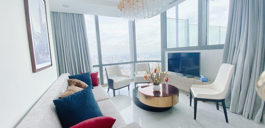 Skyvilla đẹp nhất Landmark 81 có 4 phòng ngủ đầy đủ nội thất